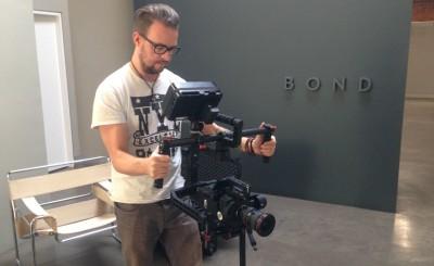 Kasper fra Eyelight tester DJI Ronin for første gang